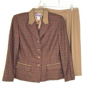 Pendleton Womens 2 Piece Set Jacket Size 10/12